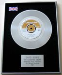 DAVID BOWIE - The Laughing Gnome Platinum Single Presentation Disc